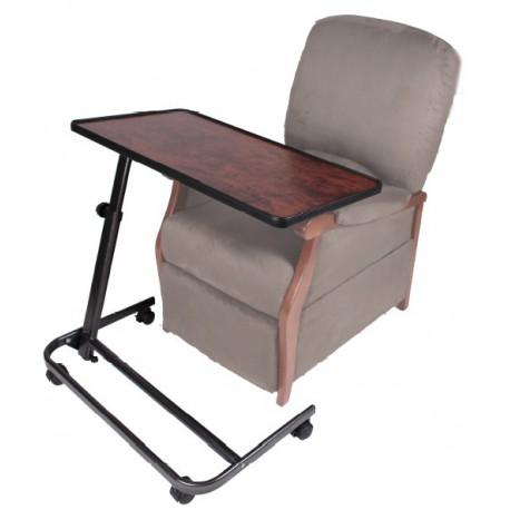 Table de lit piètement XL pour fauteuil releveur
