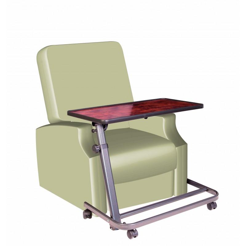 table de lit pi tement xl pour fauteuil releveur. Black Bedroom Furniture Sets. Home Design Ideas