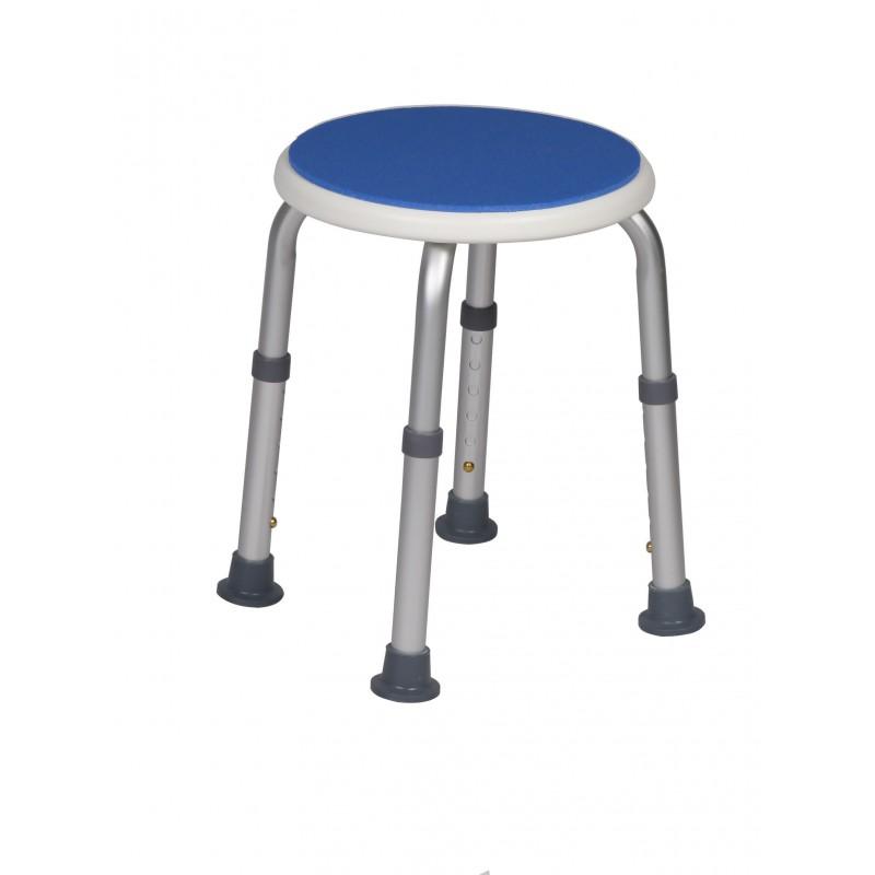 Tabouret de douche hauteur réglable Blue Seat Herdegen