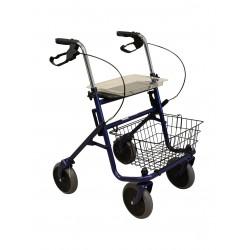 Déambulateur rollator 4 roues pliant Simply Roll II